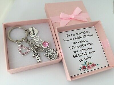 Personalised Birthday Gift Keyring For Mum Sister Daughter Friend 16th 18th 21st • 5.99£