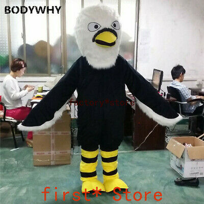Eagle Mascot Mascot Costume Fursuit Suits Cosplay Party Dress Outfits Clothing • 233.63£