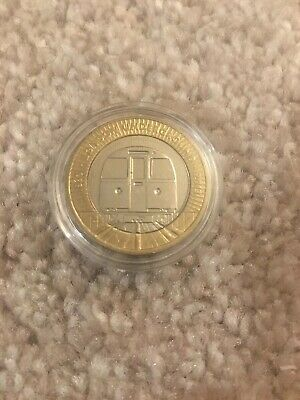 London Underground Train 2 Pound Coin In Protective Capsule • 5.99£