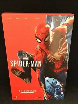 $250 • Buy Hot Toys Marvel's Spider-Man VGM31 Advanced Suit Spiderman PS4 Action Figure