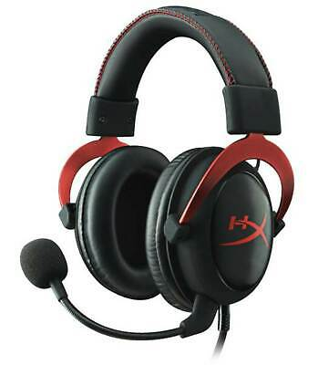 AU135 • Buy 3.5mm Wired HyperX Cloud II Red Gaming Headset Headphone With Mic