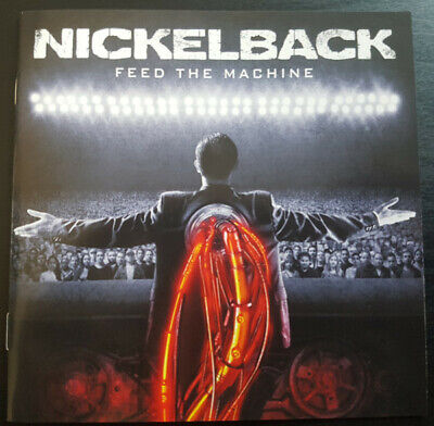 CD Nickelback Feed The Machine NEW OVP BMG • 17.92£