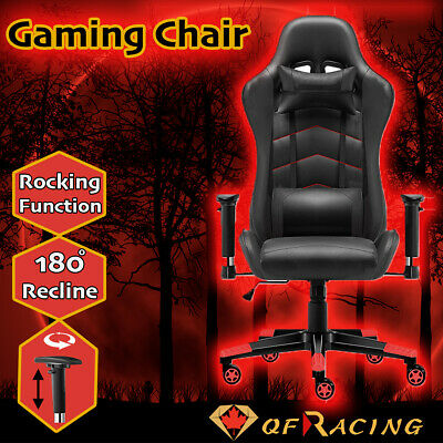 AU179.95 • Buy Gaming Chair Office Seating Racing Computer PU Leather Executive Racer