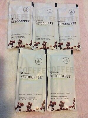 $18 • Buy It Works! KetoCoffee Keto Coffee 5 Single Serve Packets - New! Carb Management
