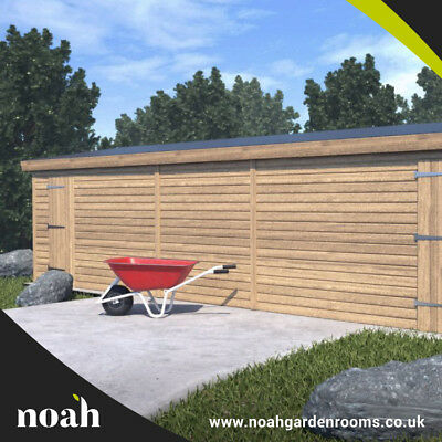 16x10 'Whitefield Shed' Heavy Duty Wooden Garden Shed/Workshop/Garage Tanalised • 1,670£