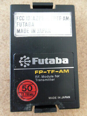 $32.95 • Buy FUTABA RF MODULE FP-TF-AM 72 MHZ FOR R/C TRANSMITTER CH50 (72.790 MHz)