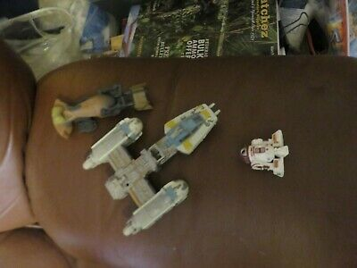 $ CDN13.11 • Buy Vintage Star Wars Action Fleet And Others Lot Of Vehicles/Ships And R2