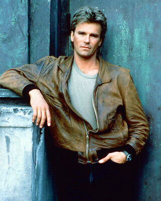 $9.75 • Buy Richard Dean Anderson Macgyver 8x10 Photo In Brown Leather Jacket