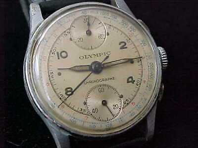 $ CDN599.36 • Buy  Vintage Olympic Up-&-Down Doctors Chronograph 1940s Just Serviced Flat Pushers
