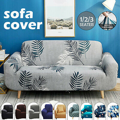 AU24.99 • Buy Sofa Covers 1/2/3 Seater Stretch Lounge Slipcover Protector Couch Washable