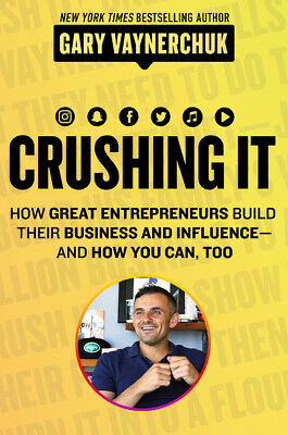AU35.79 • Buy BOOK NEW Crushing It!: How Great Entrepreneurs Build Business And Influence - An