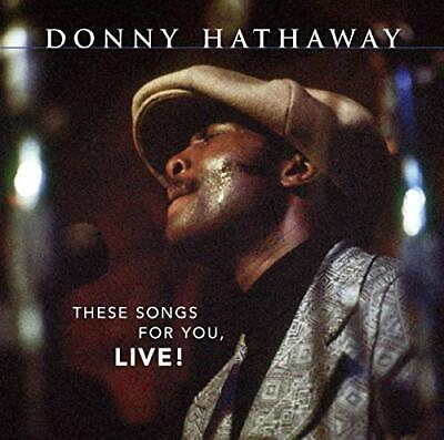 Donny Hathaway - These Songs For You, Live! (US Rele... - Donny Hathaway CD 4AVG • 20.98£