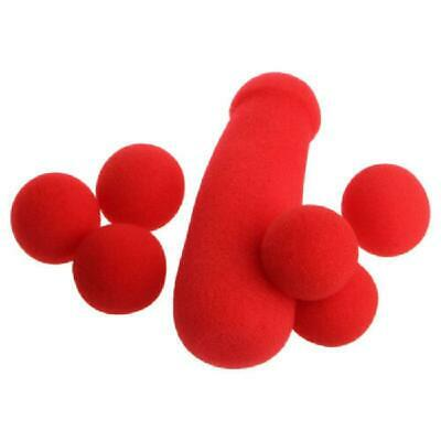 £2.58 • Buy Small Sponge Brother 4Pcs Red Sponge Balls Stage Prop Magic Tricks Funny Toys
