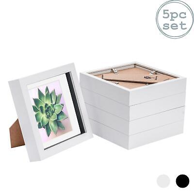 6 X 6 3D Box Frame Photo Picture Deep Display Shadow With Mount • 18.99£