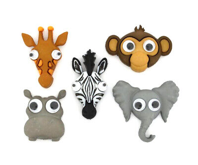 £3.99 • Buy Childrens Buttons Dress It Up - 'Lifes A Zoo' Jungle Animals - Novelty Craft