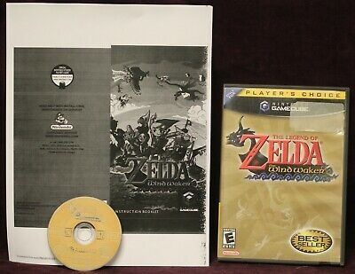 $49.95 • Buy Nintendo The Legend Of Zelda The Wind Waker For Gamecube 2004