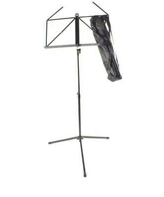 £8 • Buy Artist MUS008 Adjustable Folding Sheet Music Stand With Bag