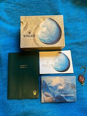 $ CDN2179.20 • Buy Vintage Rolex Watch Box 68.00.3 For Explorer From 1975 Set