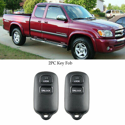 $12.99 • Buy 2pc Remote Key Fob HYQ12BAN HYQ1512Y For Toyota Tundra Double Cab 2004 2005 2006