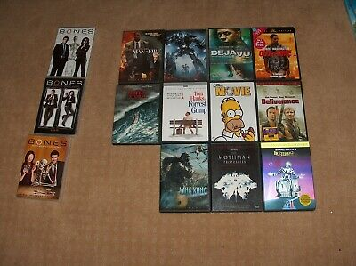 $ CDN21.15 • Buy Lot Of 14  Movies DVDs  TV BONES Series -