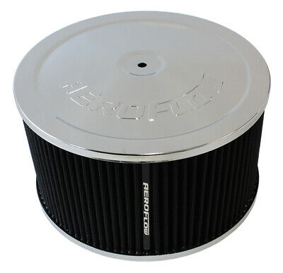 AU225.60 • Buy AEROFLOW AF2851-1366 CHROME 9  X 5  AIR FILTER ASSEMBLY FOR DOMINATOR CARBY