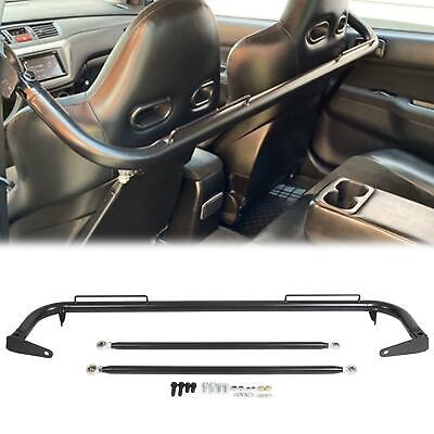 $81.55 • Buy 49  Stainless Steel Racing Safety Seat Belt Chassis Roll Harness Bar Kit Rod