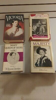$16.95 • Buy Lot Of 4 UK History Books - Queen Victoria - Elizabeth II - Mary Queen Of Scots