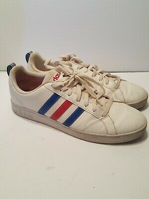 $ CDN65 • Buy Adidas Vs Advantage Red White Blue Size 12 F99255 Casual Shoes