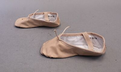 $8.99 • Buy Theatricals Footwear Girl's Leather Full Sole Ballet Shoes TM8 Pink Size 10.5