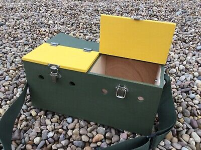 Double Painted Bow Back Ferret Carry Box Ferreting Rabbiting Hunting • 35£