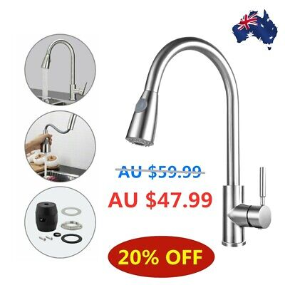 AU56.39 • Buy Modern Kitchen Sink Mixer Taps 360°Swivel Pull Out Single Lever Spray Mono Tap