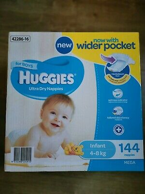 AU40 • Buy Huggies Nappies For Boys Infant