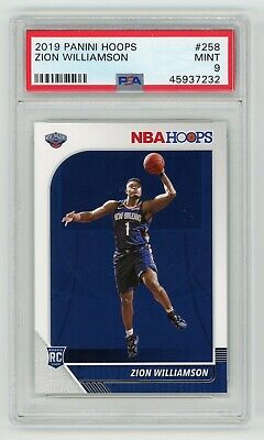 $39.99 • Buy 2019-20 Panini Hoops Zion Williamson RC ROOKIE #258 PSA 9 MINT PELICANS QTY