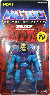 $35.99 • Buy Masters Of The Universe ~ VINTAGE-STYLE SKELETOR ACTION FIGURE ~ MOTU SUPER 7