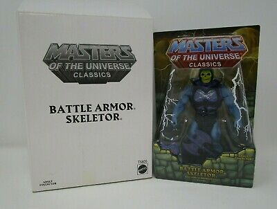 $109.99 • Buy Battle Armor Skeletor MASTERS OF THE UNIVERSE Classics MOTU Sealed W Box