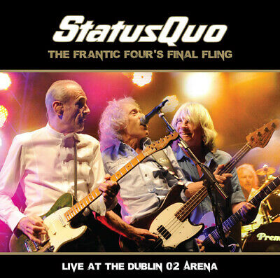 £11.22 • Buy Status Quo : The Frantic Four's Final Fling: Live At The Dublin O2 Arena CD 2