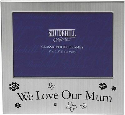 We Love Our Mum Photo Picture Frame Mother's Day Birthday Christmas Gift 5 X 3.5 • 3.69£