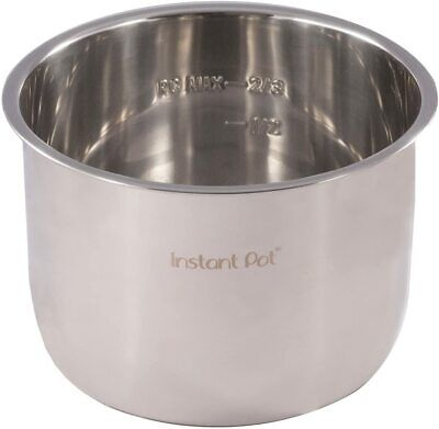 $59.98 • Buy New & Genuine Instant Pot Premium Stainless Steel Inner Cooking Pot, 8 Quart