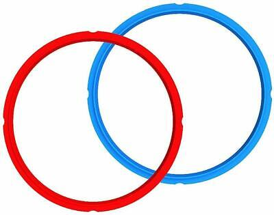 $19.53 • Buy New & Genuine Instant Pot Sealing Ring - 8 Quart, 2 Pack, Red And Blue, BPA Free