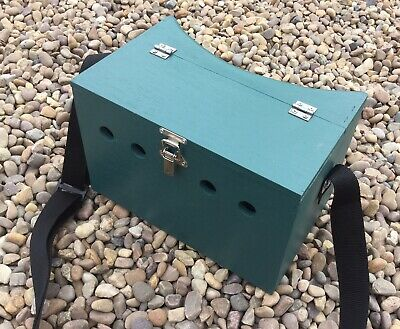 Single Bow Back Ferret Carry Box Ferreting Rabbiting Hunting • 30£