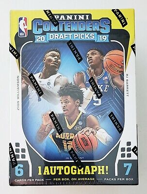 $37.99 • Buy 2019/20 Panini Contenders Draft Picks Basketball Sealed Blaster Box NBA Zion NEW