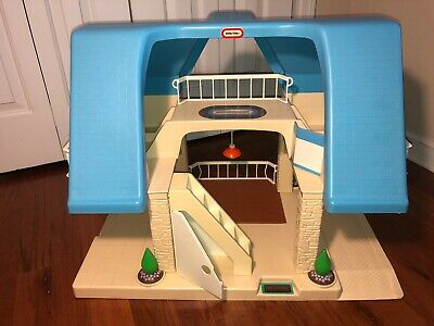 $70 • Buy Vintage Little Tikes Dollhouse Blue Roof - House Only