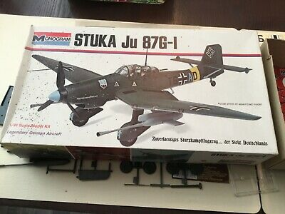 $17.50 • Buy Monogram 1/48 Scale Unbuilt Model Airplane(Stuka/Ju/87G-1/German)1973 +catalog