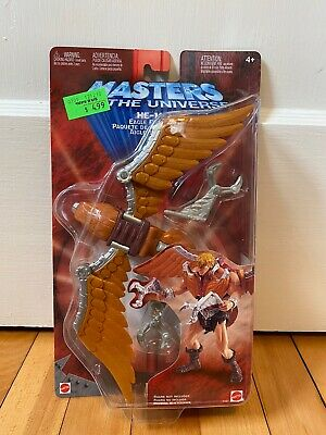 $24.99 • Buy Vtg 200x Mattel Masters Of The Universe He-Man MOTU Figure EAGLE FLIGHT PACK New