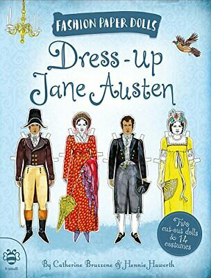 Dress-up Jane Austen (Fashion Paper Dolls) By Catherine Bruzzone Book The Cheap • 6.99£