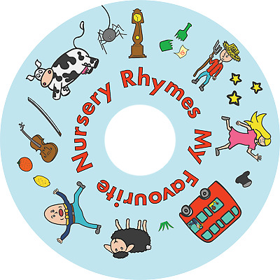 MY FAVOURITE NURSERY RHYMES CD 30 Songs Preschool Nursery Kids Children Lullaby • 2.49£