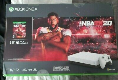 $400 • Buy New Xbox One X 1TB NBA 2K20 Special Edition Hypersapce Console With Game Code