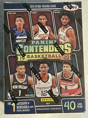 $32.98 • Buy 2019-20 Panini Contenders Sealed Blaster Box ZION Williamson Ja Morant RC Auto?!