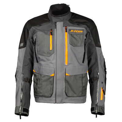 $ CDN922.74 • Buy Klim Carlsbad Asphalt Strike Orange Textile Motorcycle Jacket