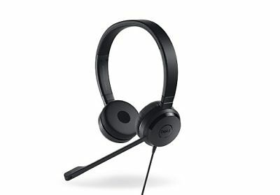 £39.99 • Buy Genuine Dell Pro Stereo Headset UC350 Skype® For Business Certified 520-AAMC